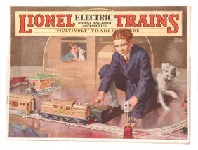 Lionel Prewar Consumer Catalog For 1925