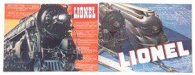 Lionel  Prewar Consumer Catalogs 1936 1937