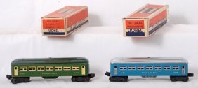 Lionel 2430 And 6440 Pullman Passenger Cars In OB
