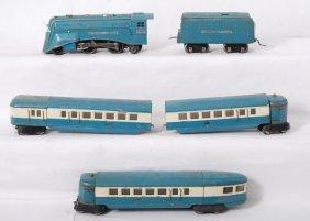 Lionel 265-E, 265WX, 617, 618, 619 Blue Streak