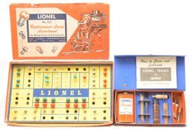 Lionel 123 Replacement Lamp Asst. 927 Lube Kit