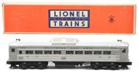 Lionel 2559 B&O Bud RDC-9 Pass Car OB