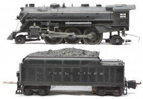 Lionel 224E Steam Loco 2224W Tender