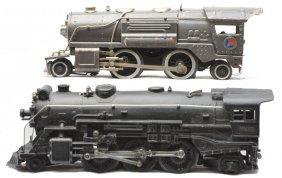 Lionel 259E Gunmetal Loco 225E Black Loco