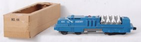 Lionel 44 U.S. Army Missile Launcher In OB