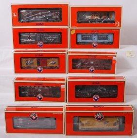 10 Lionel Freight Cars 17398, 17549, 26089, Etc