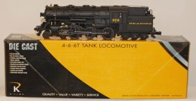 K Line Reading 4-6-6T Tank Loco With TMCC