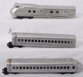 Lionel City Of Portland Silver Passenger Train 752