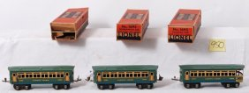 Lionel 1692, 1692, 1693 Passenger Cars In OB