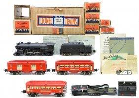Lionel Red Passenger Set No. 146W Boxed