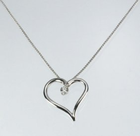 "Hearts On Fire ""Amorous"" Heart Diamond Pendant"