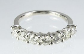 1 Ct. Diamond Anniversary Ring By Gabriel & Co.