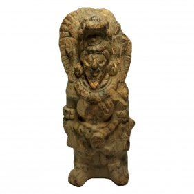 Pre-columbian Maya Whistle Figure