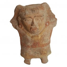 Pre-columbian Veracruz Whistle Figure
