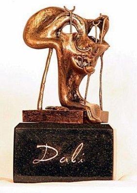 Dali Bronze - Soft Self Portrait With Fried Bacon
