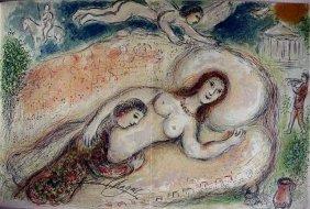 Exquisite M Chagall Original Signed Litographs Odyssey