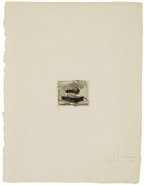 Jasper Johns, Flashlight (small)