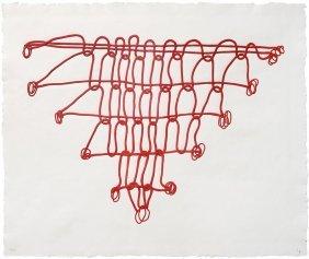 Louise Bourgeois, Crochet Iii (from Crochet Series)