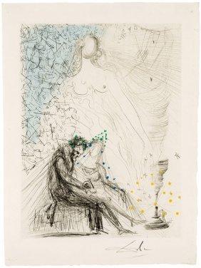 Salvador Dali, Le Couple à La Bougie