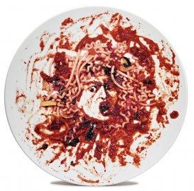 Vik Muniz, Untitled (medusa Plate)