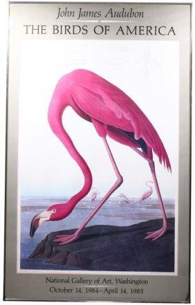 John James Audubon Exhibit Poster 1984