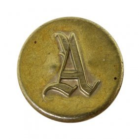 Confederate Artillery Button