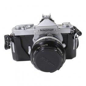 Nikon Nikomat Ft Series Camera With Case