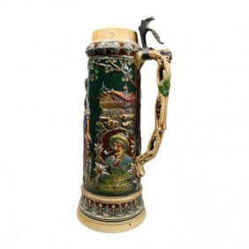 Large German Beer Stein