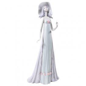 Lladro The Debutante Tall Lady Series Figurine