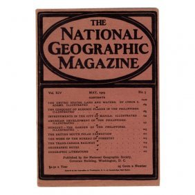 National Geographic Magazine May 1903