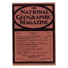 National Geographic Magazine November 1903