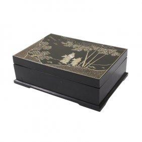 Black Lacquer Box