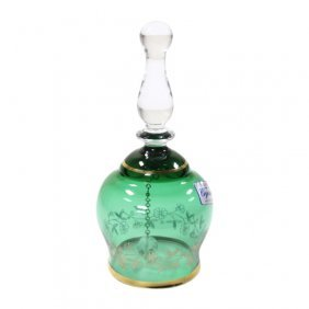 Bohemia Czech Crystal Glass Bell