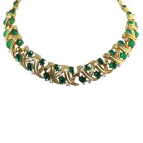 Trifari Helix Necklace