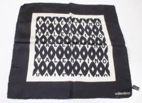 Valentino Silk Small Scarf