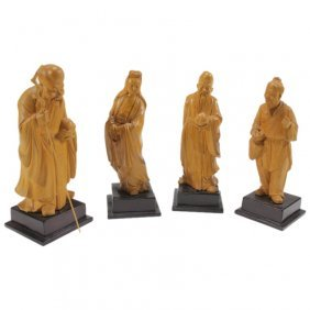 Four Of The Eight Immortals