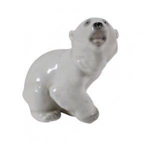U.s.s.r. Ceramic Polar Bear
