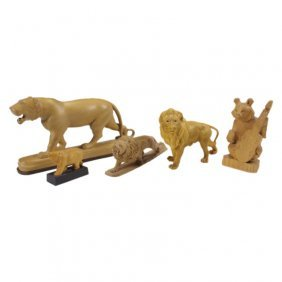 Lions, A Tiger, And Bears