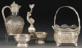 CONTINENTAL SILVER GROUP, EARLY TO LATE 19TH C