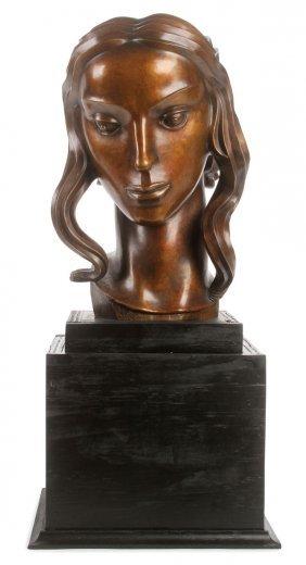 Bronze Bust After Carl Milles
