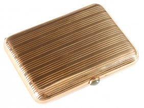 Heavy Gold Cigarette Case