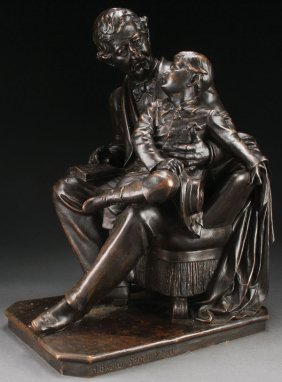 Large Bronze Attributed To Henry Baerer