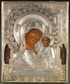 Russian Icon, Circa 1850