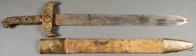 A Victorian Decorative Or Theatrical Sword