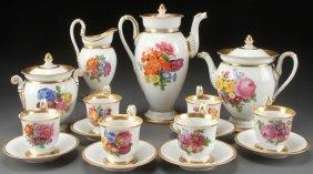 Fine Meissen Porcelain Coffee Tea Service
