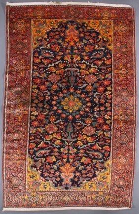 A Fine Persian Mishin Malayer Oriental Rug, Circa 1930