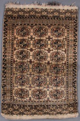 A Contemporary Turkoman Tekke Pattern Oriental Rug