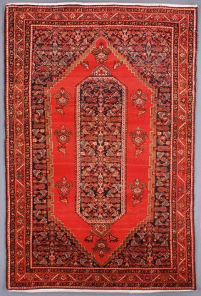 A Persian Malayer Oriental Rug, Second Quarter 20