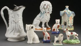 Victorian Staffordshire Pottery