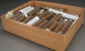 A Collection Of 95 Rolls Of Lincoln Wheat Cents.